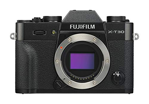 Fujifilm X-T30 Mirrorless Digital Camera, Black (Body - Black Body Digital Camera