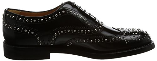 Stringata Black Burwood Met Church's Church's Burwood Stringata Met Black 88vqr