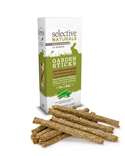 Selective Naturals Garden Sticks For Rabbits (Pack Of Four)