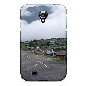 For Case Ipod Touch 4 Cover Premium PC Airports Lukla Nepal Protective Case