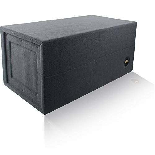 2.0 Cu. Ft. Ported / Vented MDF Sub Woofer Enclosure for Single 12'' Car Subwoofer (2.0 ft^3 @ 32Hz) Made in U.S.A. by MSW Enclosures (Image #5)