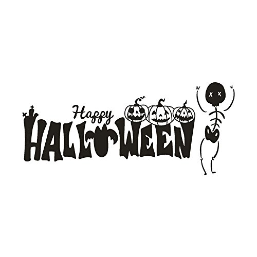 OTTATAT Wall Stickers for Living Room 2019,Happy Halloween
