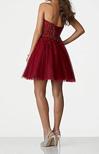 Vestido mujer Topkleider Rojo para trapecio wX6xwq4