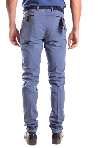 Pt01 Homme MCBI247043O Bleu Coton Pantalon