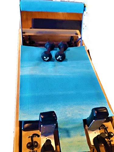 Pilate Patch Zen Cloud Blue Pilates Reformer MAT Hygienic Reformer Mat Cover for Reformer & Foot Bar. Easy Clean, Fashionable, Healthy! New with Tags