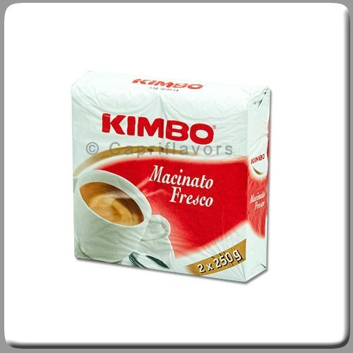 8.8 Ounce Brick (Kimbo Macinato Fresco 8.8 Oz (250g) Brick (Pack of 2) by Kimbo)