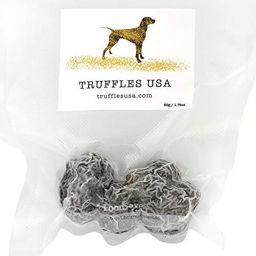 TRUFFLES USA Frozen Black Summer Truffles 3.5oz - Imported from Italy - Specialty food Truffles - Vegetarian - Gluten Free