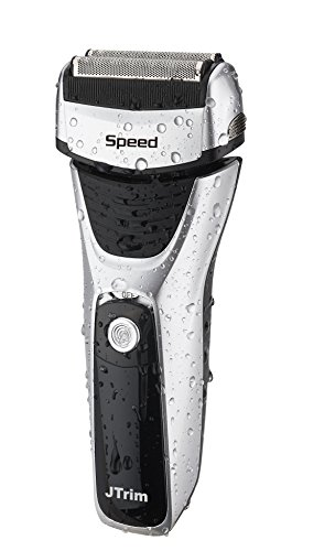 Electric Shaver For Men By JTrim Speed 3 Power Flex & Pivot 3 Blades Wet dry Foil Electric Razor With Sideburns Trimmer JPT-FS400 Jay's Products Rated Electronics