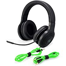 Razer Kraken Essential V2 Analog Noise Isolating Over-Ear Gaming Headset (Certified Refurbished)