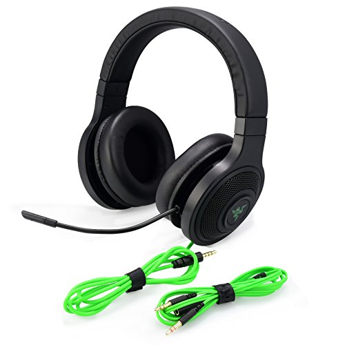 Razer Kraken Essential V2 Analog Noise Isolating Over-Ear Gaming Headset (Certified Refurbished)