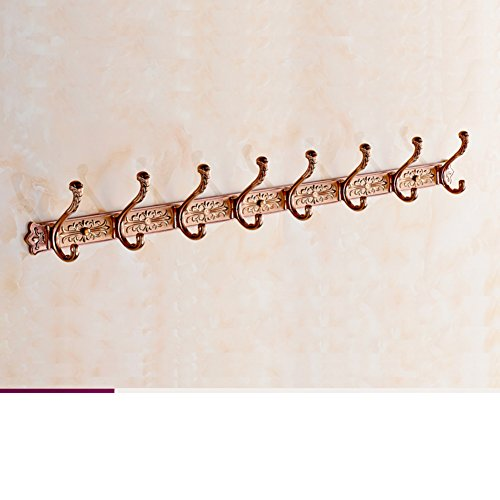 30%OFF European-style clothes hooks/ antique rows of hooks/Wall hanging hooks/Door hangers/ bathroom clothes hook-X