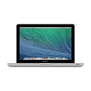 "UESWILL Smooth Soft-Touch Matte Frosted Hard Shell Case Cover for MacBook Pro 13"" with CD-ROM (Non-Retina)(Model:A1278)+ Microfibre Cleaning Cloth, Clear"