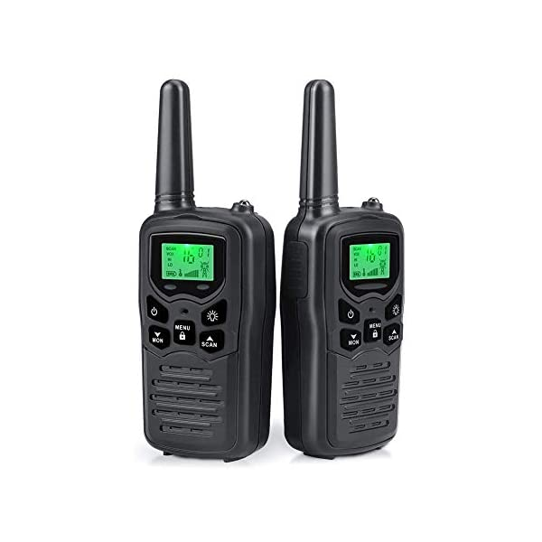 Walkie Talkies Long Range for Adults Two-Way Radios Up to 5 Miles in Open Fields...