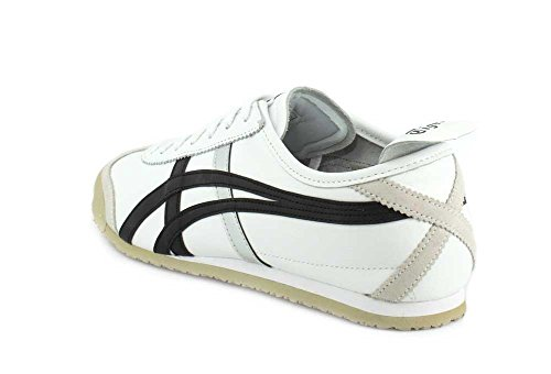 Schuhe White 66 Herren Asics Onitsuka Mexico Tiger Black 6Hq7FT