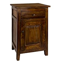 Antique Revival ICB020A BRN Drogo Side Table