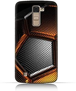 LG K10 TPU Silicone Case With Soccer Ball Texture Design