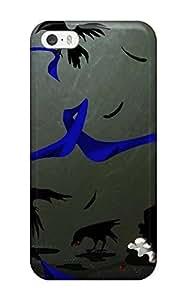 Brand New 5/5s Defender Case For Iphone (animal Bird Blue Dress Flowers Funakura Gloves Jpeg Artifactsoriginal Thighhighs)