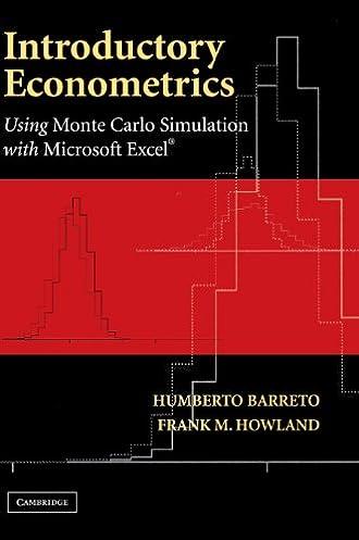introductory econometrics using monte carlo simulation with rh amazon com