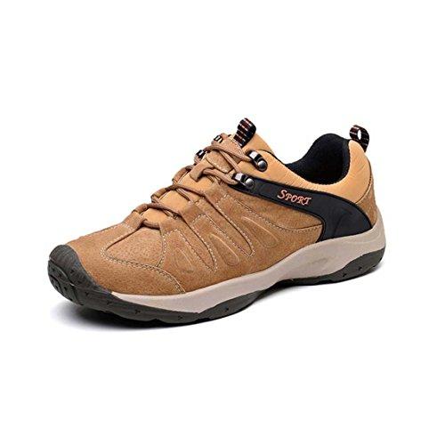 ZXCV Zapatos al aire libre Zapatos de los hombres zapatos de senderismo al aire libre zapatos diarios zapatos casuales Marrón