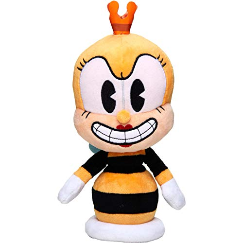 Funko Rumor Honeybottoms: Cuphead x Collectible Plushies Plush + 1 Video Games Themed Trading Card Bundle [33300]
