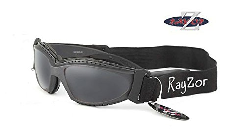 RayZor Professional Sailing Watersports Sunglasses for Men and Women Lightweight Sports Wrap Eyewear. UV400 Outdoor…