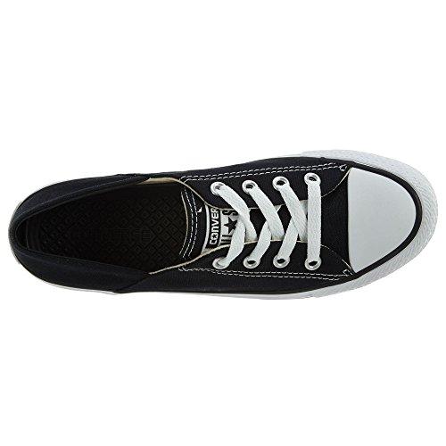 Converse Womens Chuck Taylor All Star Coral Ox Sneaker Black/White KJUIW
