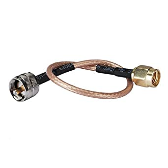 Rf Sma Plug to UHF Pl259 Male Connector Coaxial Cable Rg316 30cm(1feet) for amateur radio Ships from USA: Amazon.com: Industrial & Scientific