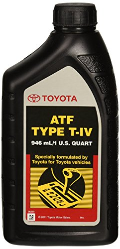 Toyota Lexus ATF Type T-IV Automatic Transmission Fluid OEM, 1 (A/t Transmission)