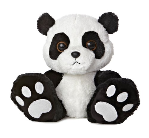 Aurora World Taddle Toes Domino Panda Bear Plush, 10 #34; Tall