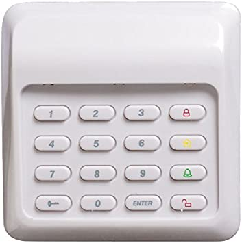 SABRE Remote Control Key FOB with Panic Button for WP-100 Wireless Home Security Burglar Alarm System