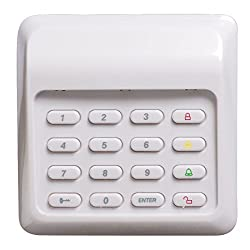 Sabre Wireless Keypad Control For Wp 100 Wireless Home Security Burglar Alarm System Diy Easy To Install