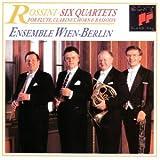 Rossini: Six Quartets for Flute, Clarinet, Horn & Bassoon