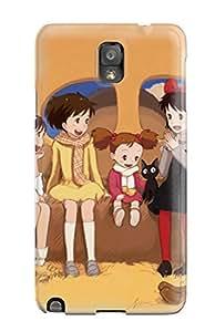 Galaxy High Quality Tpu Case/ Animal Cat Ghibli Kiki Kokudou Juunigou Kusakabe Mei Kusakabe Satsuki Makkurokurosuke Muska Ogino Chihiro Sheeta Spirited Away Tonari No Totoro BFlZGOY10879spvKe Case Cover For Galaxy Note 3