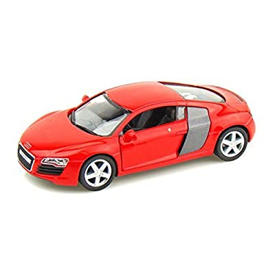 KiNSMART Audi R8 1/36 (RED): Toys & Games