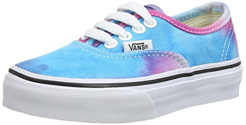 Vans AUTHENTIC Unisex-Kinder Sneakers Mehrfarbig ((Tie Dye) pink/ FQ0)