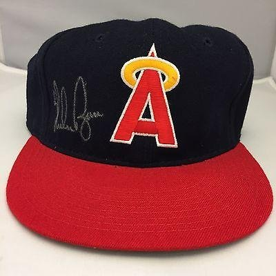 Nolan Ryan Signed Authentic 1980's Official New Era California Angels Cap - JSA Certified - Autographed Hats by...