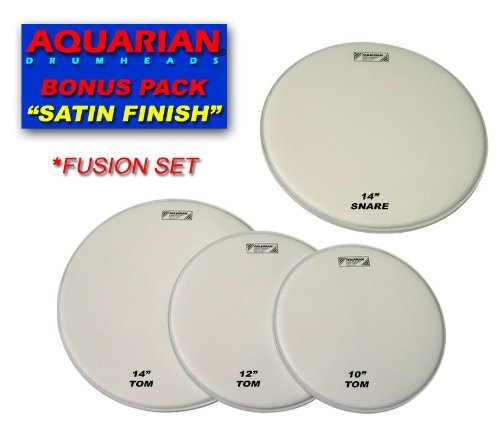 Aquarian Drumheads TC-A Texture Coated Tom Pack 10, 12, 14-inch