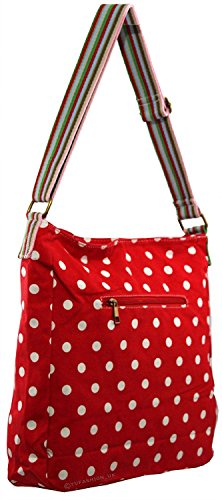 Animal Shoulder Handbag Tote handle Top Red And Small Various Anchor Umbrella Kukubird Crossbody Design Bag Polka Dots v075nq4x