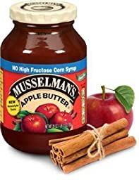 Musselman\'s Apple Butter (Pack of 2) 17 oz Jars