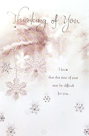 Thinking Of You At Christmas Card: Amazon.co.uk: Kitchen & Home