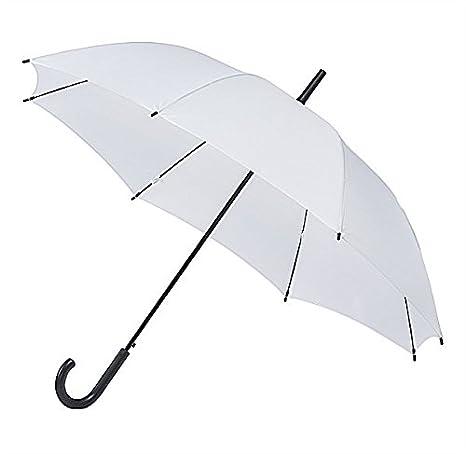 Falconetti paraguas bastón automático, color blanco