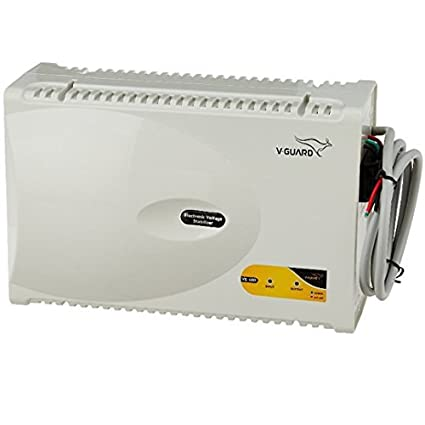 V Guard VG400 400 Watt Voltage Stabilizer for Air Conditioner  Grey