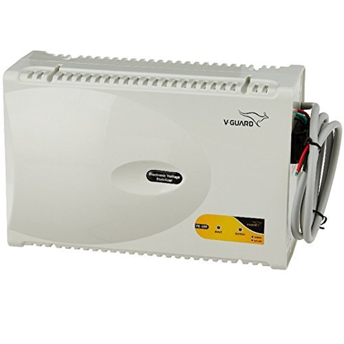 V Guard VG400 400 Watt Voltage Stabilizer for Air Conditioner  Grey  Voltage Stabilizers