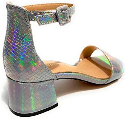 Sandalo Donna Gold & gold TC 45 Alla caviglia Laminato Silver DS20GG39