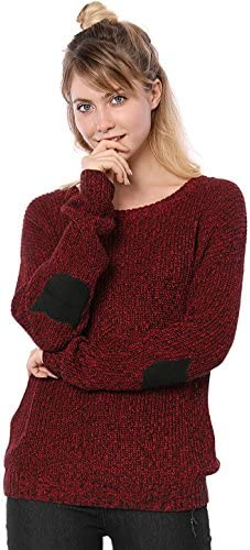 Allegra Womens Shoulder Sweater Pullover product image