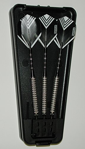 US Darts - Xtreme Medium Grip 22 Grams, No-Bounce, Moveable Point Darts, 90% Tungsten Darts - with Upgrade Kit