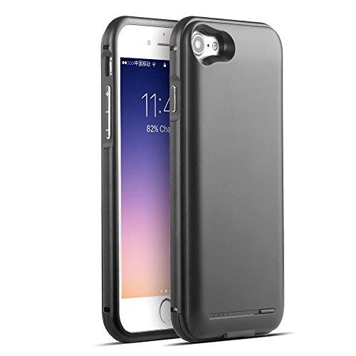 2800mah External Battery Case iPhone 7 (Black) - 8