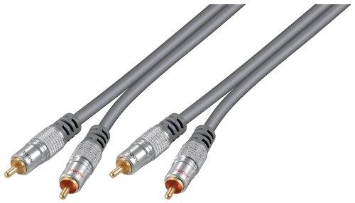 Wentronic HT 40-500 5.0m 5m 2 x RCA 2 x RCA cavo audio