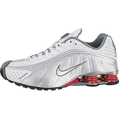 newest 728aa 7b4f8 Nike Shox R4 White Metallic Silver