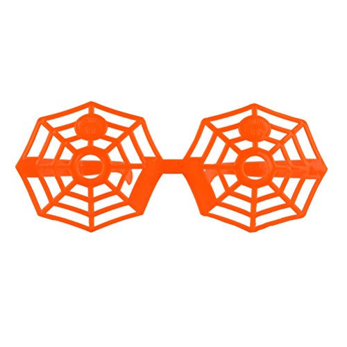OULII Halloween Spider Web Glasses Novelty Sunlasses Frame Kids Prop Cosplay for Halloween Party Favors - Sunlasses